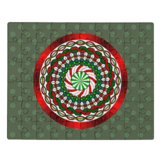 Les couleurs du puzzle d'acrylique de Noël