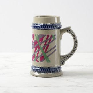 les couleurs vintages des années 80 80s mugs à café