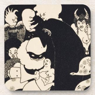 Les créatures étranges de Lucian, illustration de  Dessous-de-verre