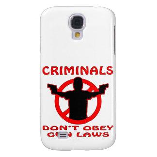 Les criminels ne se conforment pas à des lois d'ar coque galaxy s4