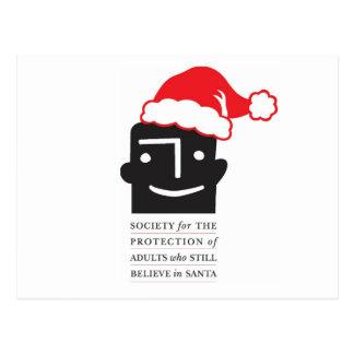 Les croyants de Père Noël de ~ de cartes postales