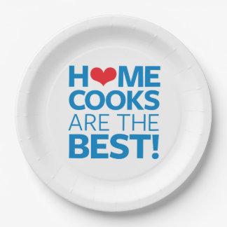 Les cuisiniers de maison sont le meilleur assiettes en papier