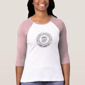 Les D.O.P. - Chemise raglane de S.A. Hogg Women's T-shirt