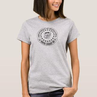 Les D.O.P. - T-shirt de S.A. Hogg Women's (gris)