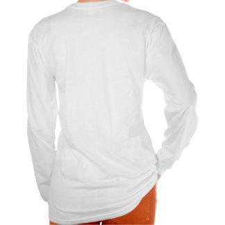 Les dames blanches ont adapté Unknownn Hoody T-shirt