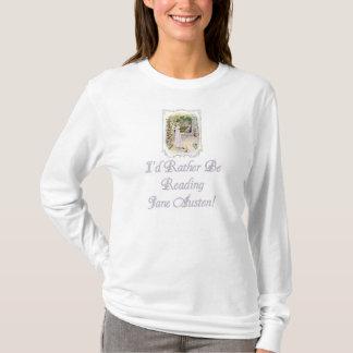 Les dames d'IRBR Jane Austen allument long Slv T, T-shirt
