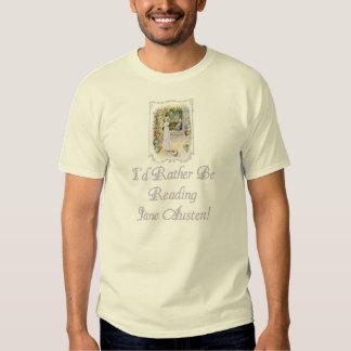 Les dames EDUN d'IRBR Jane Austen VIVENT T T-shirt