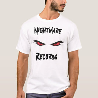 les disques de cauchemar ont réduit le T-shirt de