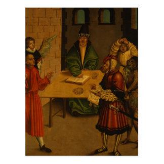 Les Dix commandements, 1516 Carte Postale