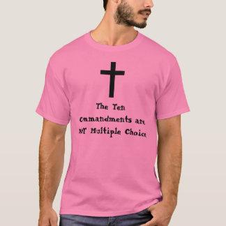 Les Dix commandements ne sont pas multiples… T-shirt