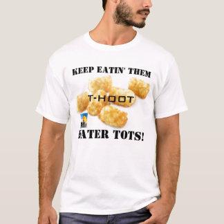 les doigts de tater, couverture de huée petite, t-shirt