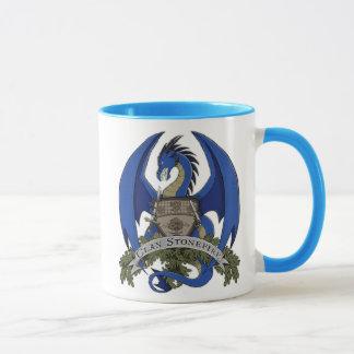 Les dragons de Stonefire Crest (dragon bleu) la Mug
