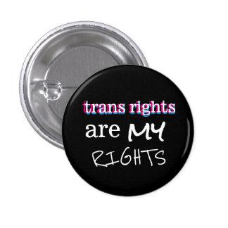 les droites de transport sont mon bouton de badge