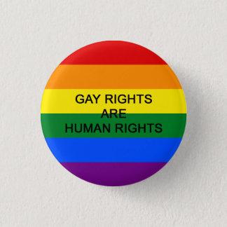 Les droits des homosexuels sont insigne de droits badge