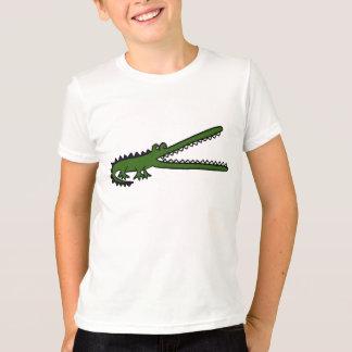 Les EA T-shirt de bande dessinée de crocodile