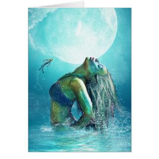les eaux fraîches carte de vœux