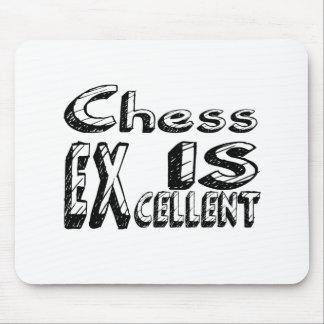 Les échecs sont excellents tapis de souris