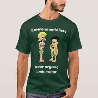 Les écologistes portent les solides totaux t-shirt