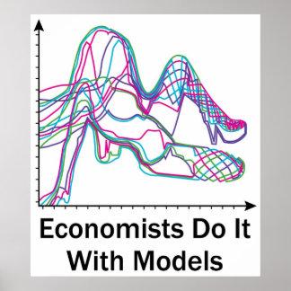 Les économistes le font avec l'affiche de modèles posters