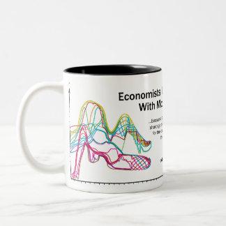 Les économistes le font avec tasse à deux tons de