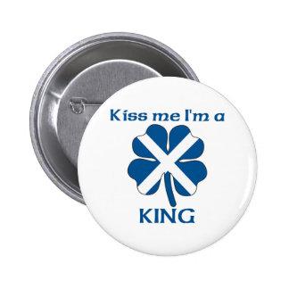 Les écossais personnalisés m'embrassent que je sui badge