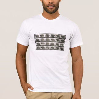 Les éléphants de Muybridge T-shirt