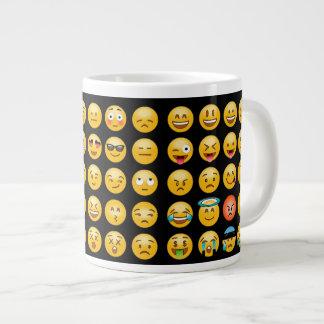 Les émoticônes expriment avec la tasse de café de