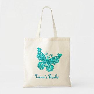 Les enfants d'aqua de papillon ont appelé le sac f