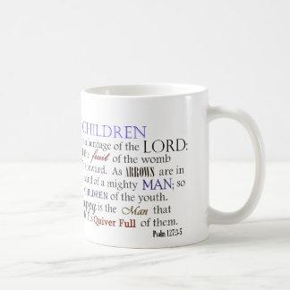 Les enfants du psaume 127 sont héritage du mug