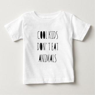 Les enfants frais ne mangent pas la chemise t-shirt pour bébé