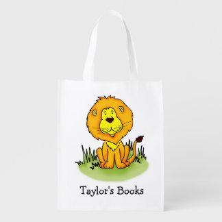 Les enfants ont appelé le cartable de bibliothèque sacs d'épicerie