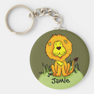 Les enfants ont appelé le keychain de lion