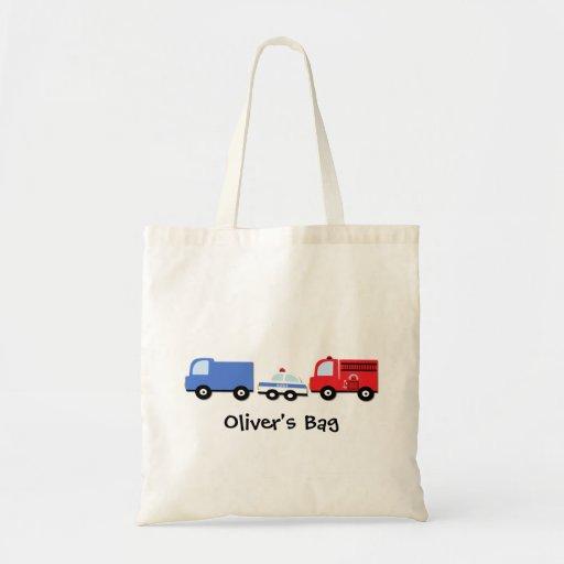 Les enfants ont personnalisé le sac fourre-tout à