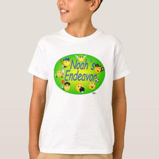 Les enfants piquent avec le logo t-shirt