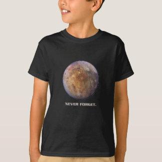 Les enfants se rappellent le T-shirt de Pluton