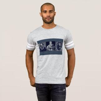 Les épaules des hommes du T-shirt de Giants
