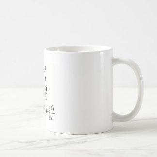 Les équations de Maxwell Tasse À Café