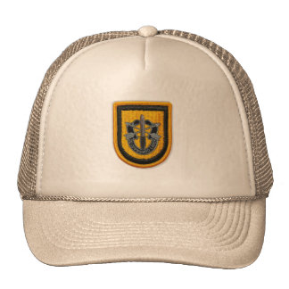 les ?ères forces spéciales groupent le chapeau de  casquettes de camionneur