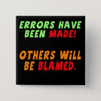 Les erreurs drôles ont fait des cadeaux de badge