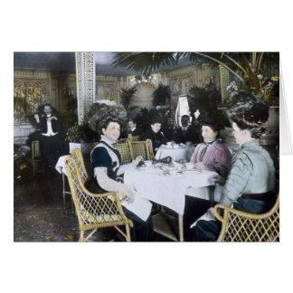 Les ęrs passagers de classe de RMS Titanic Carte De Vœux