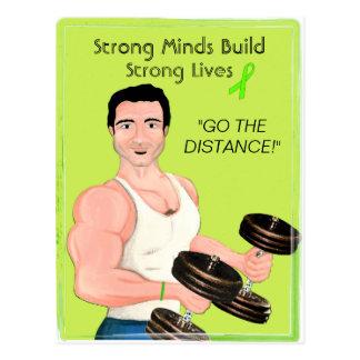 Les esprits forts établissent les vies carte postale