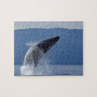 Les Etats-Unis, Alaska, Angoon, baleine de bosse Puzzle