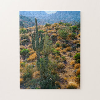 Les Etats-Unis, Arizona. Vue de désert Puzzle