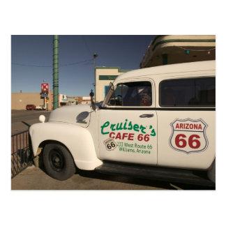 Les Etats-Unis, Arizona, Williams : Café 66 de Carte Postale