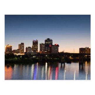 Les Etats-Unis, Arkansas, Little Rock, horizon de Carte Postale