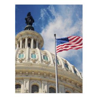 Les Etats-Unis, Colombie, Washington DC, bâtiment Carte Postale