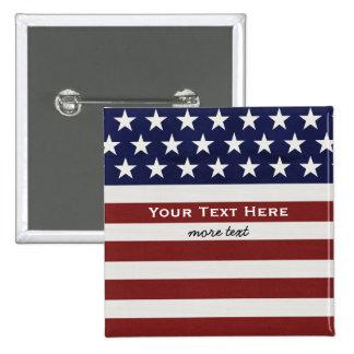 Les Etats-Unis drapeau américain coutume Pin's