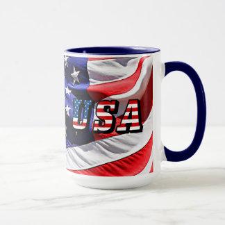 Les Etats-Unis - Drapeau américain Tasse