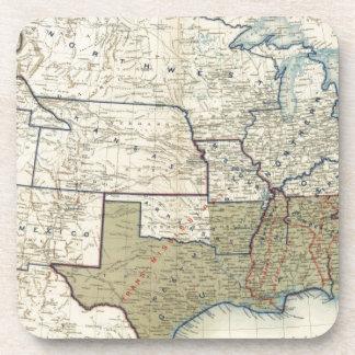 Les Etats-Unis en juin 1864 Sous-bock