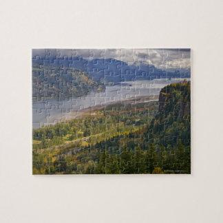 Les Etats-Unis, gorge du fleuve Columbia Puzzle